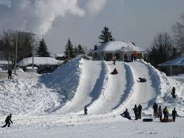 Cochrane Winter Carnival slide